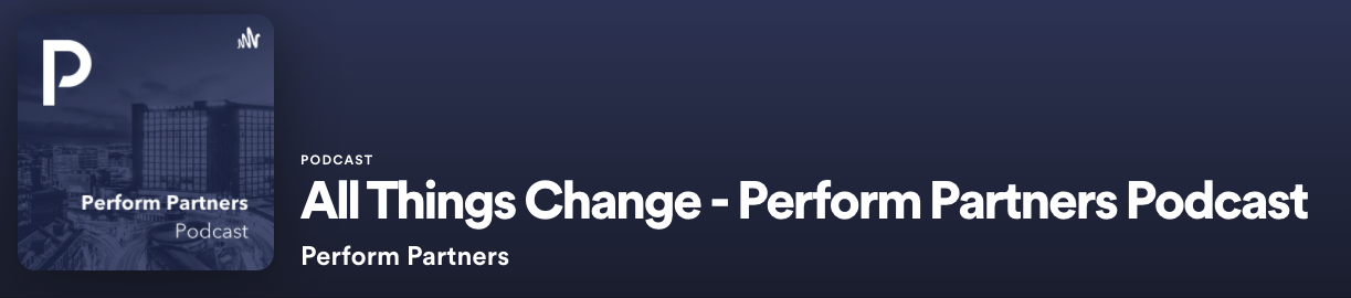 All Things Change Podcast Banner